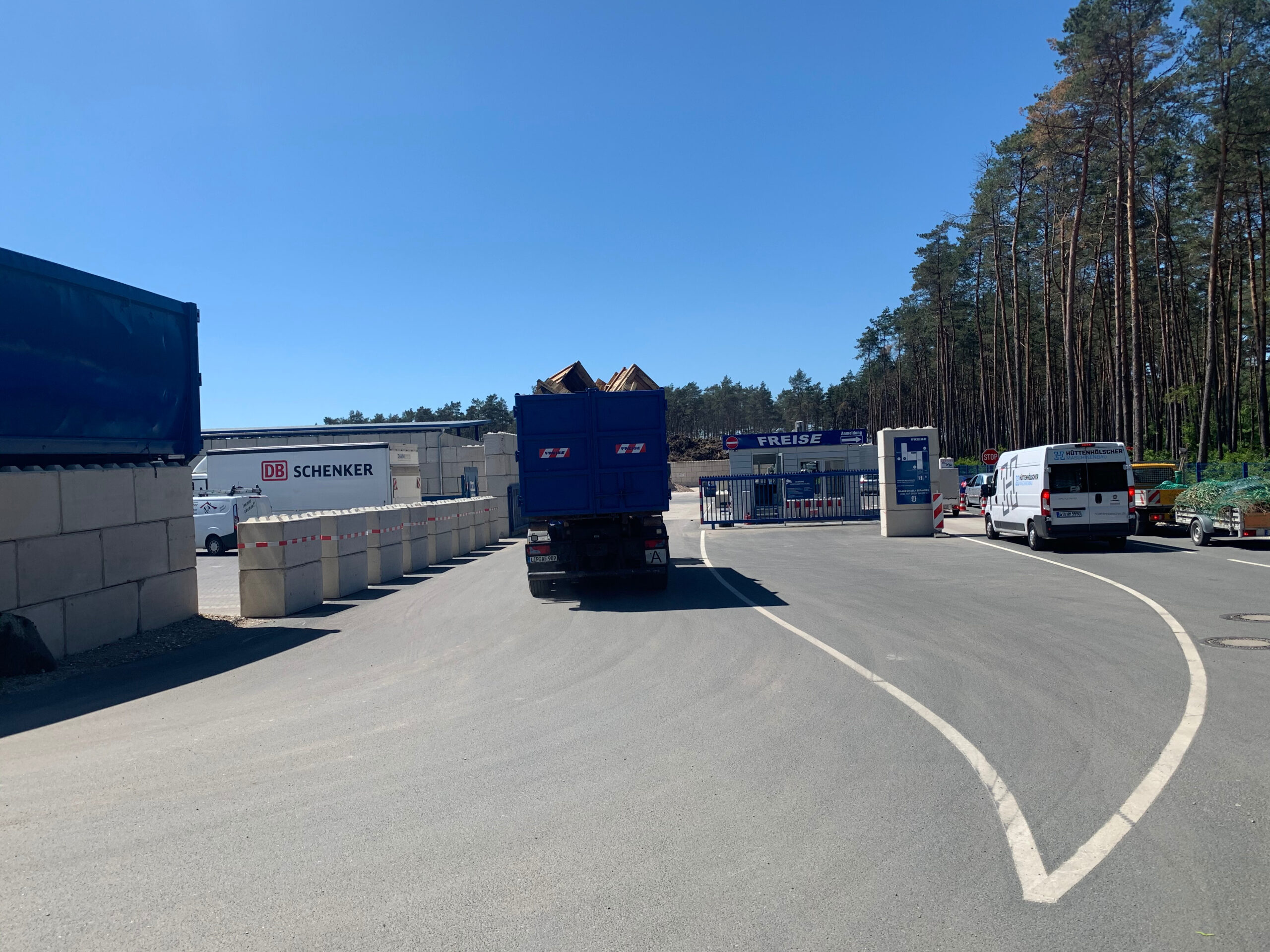 Recyclinghof Wertstoffhof